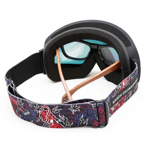 Маска NANDN NG82 оранжевая для лыж и сноуборда, Горнолыжные маски, очки - купить с доставкой