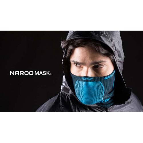 Бандана бафф Naroo Mask X5, цвет черный, синий, красный, зеленый, желтый