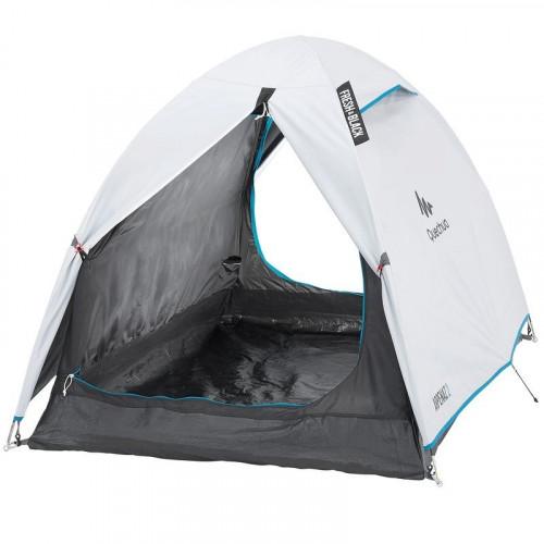 Купить палатку, QUECHUA FRESH&BLACK, палатка для кемпинга, Двухместная палатка в Алматы, туристическая палатка