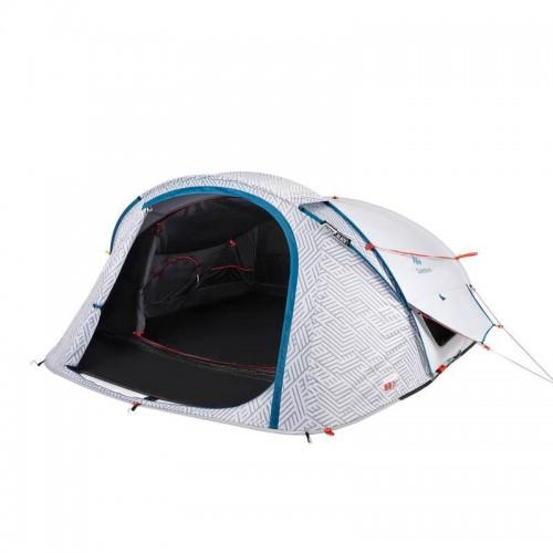 Трехместная палатка с тамбуром, Quechua 2 seconds Fresh&Black 3, new 2018, туристическая палатка