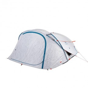 Quechua 2 seconds Fresh&Black Двухместная палатка new 2018