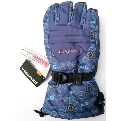 Мужские горнолыжные перчатки Head, цвет синий, размер XL