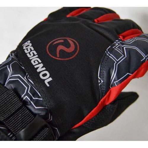 Универсальные перчатки Rossignol, цвет черно-красный, размер L