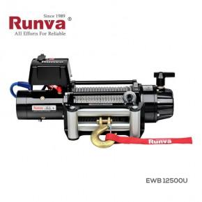 Лебедка электрическая 12V Runva 12500 lbs 5720 кг (влагозащищенная)