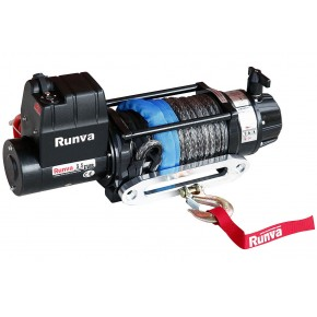 Лебедка Runva EWB 9500U SR синтетический трос (влагозащищенная) 12V