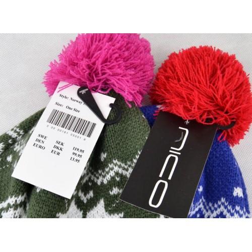 Зимняя женская шапка Niko, цвет синий
