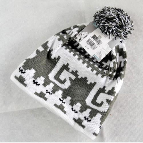 Зимняя мужская шапка Burton, цвет синий и серый