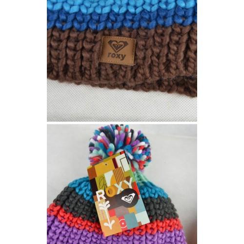 Женская шапка Roxy с помпоном