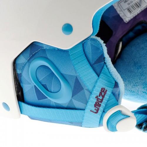 Шлем горнолыжный WED'ZE ONE FEEL женский, цвет белый, размер L (50cm)