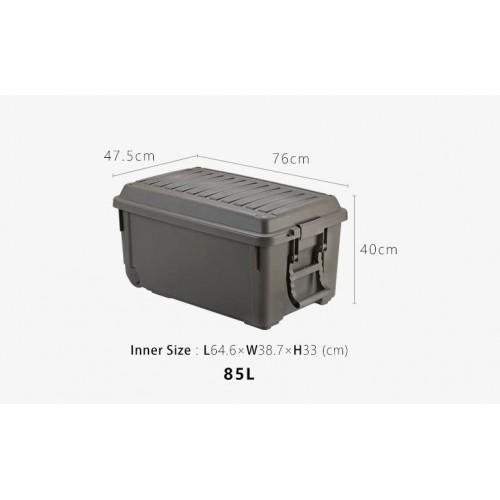 Экспедиционный ящик объём 85L, для хранения и перевозки вещей, инструментов, туристического инвентаря