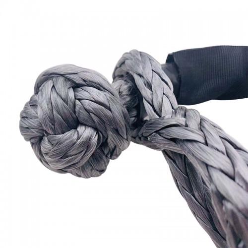 Мягкий шакл из синтетического троса диаметром 13 мм, Софт шакл, 17тонн