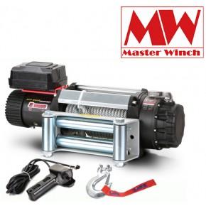 Лебедка Master Winch E 12500 12V стальный трос 5,6 тонн влагозащищенная