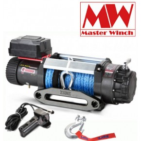 Лебедка Master Winch SW E 12500 12V с кевларом, 5,6 тонн влагозащищенная